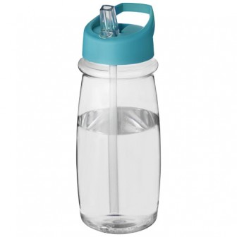 H2O Pulse 600 ml sportfles met tuitdeksel_Wit