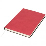 Liberty soft touch notitieboek_Midden rood