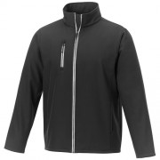 Orion softshell heren jas_Zwart