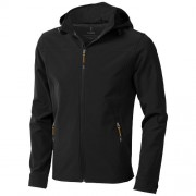 Langley heren softshell jack_Zwart